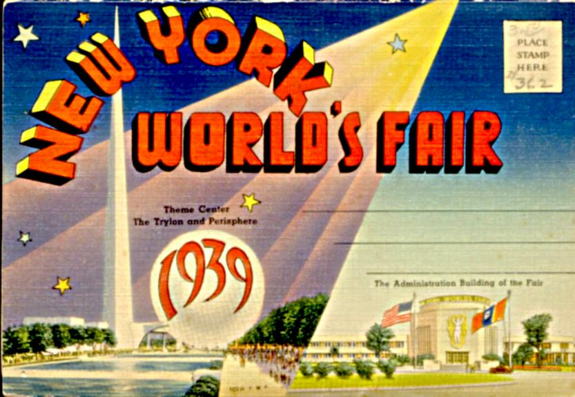 1939 Fair Booklet