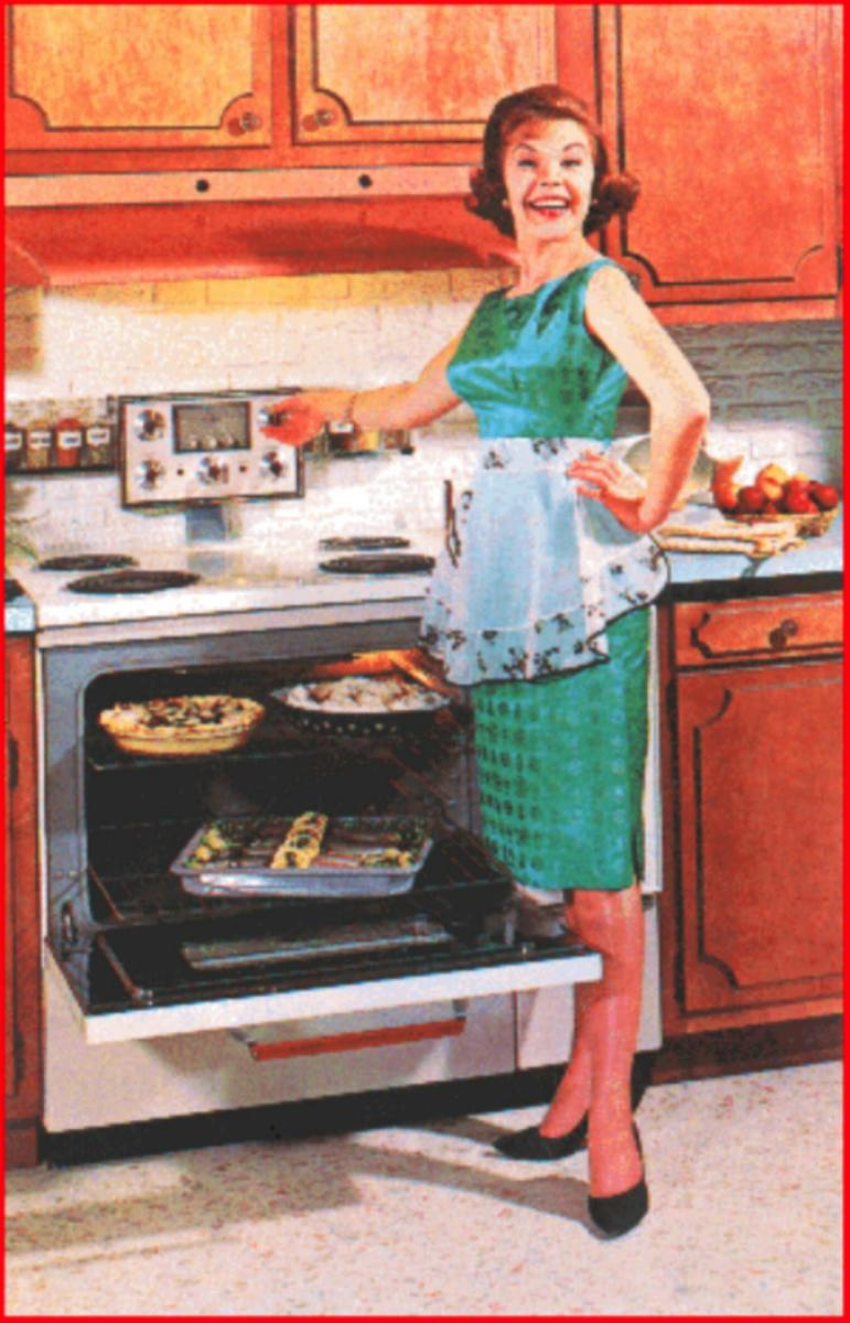 50s Happy Housewife