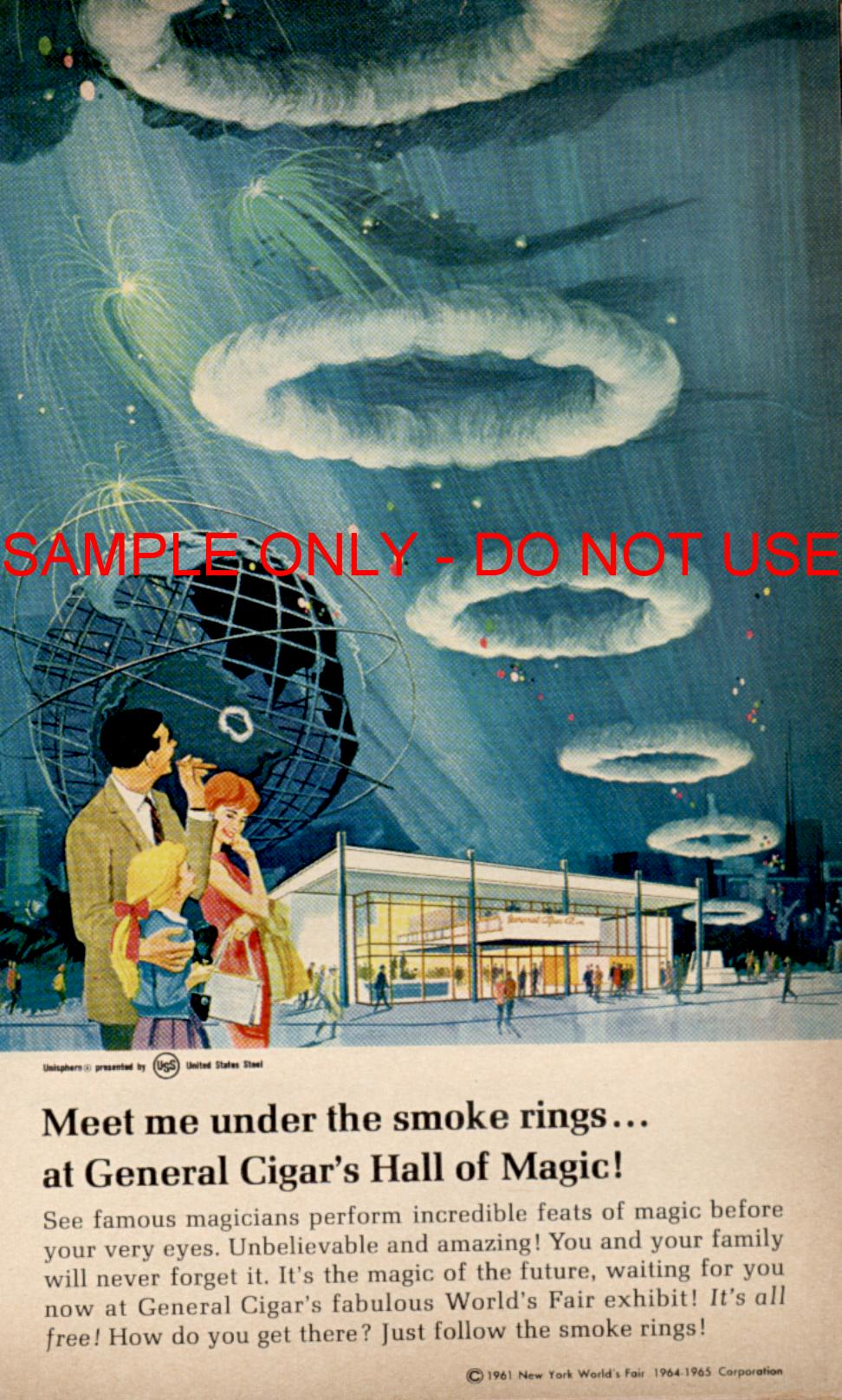Smoke Rings ad