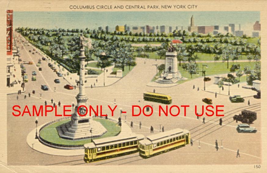 Columbus Circle at Central Park