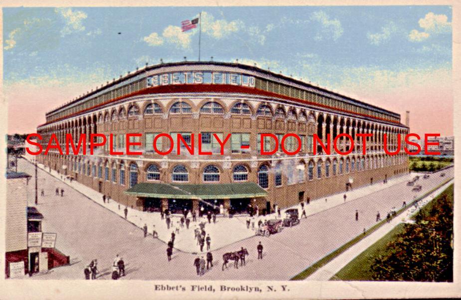 Ebbets Field NYC