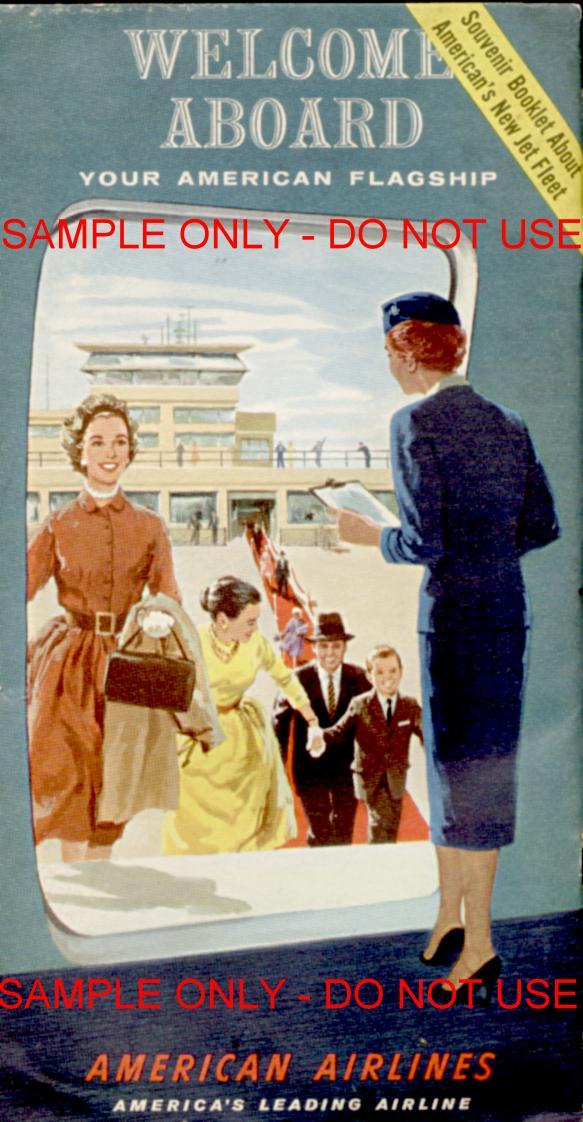American Air Welcome brochure
