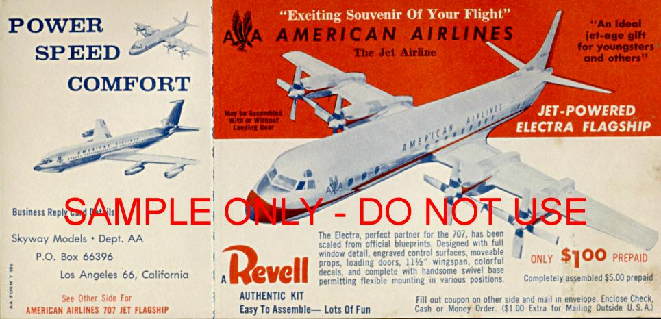 Ravell plane model offer