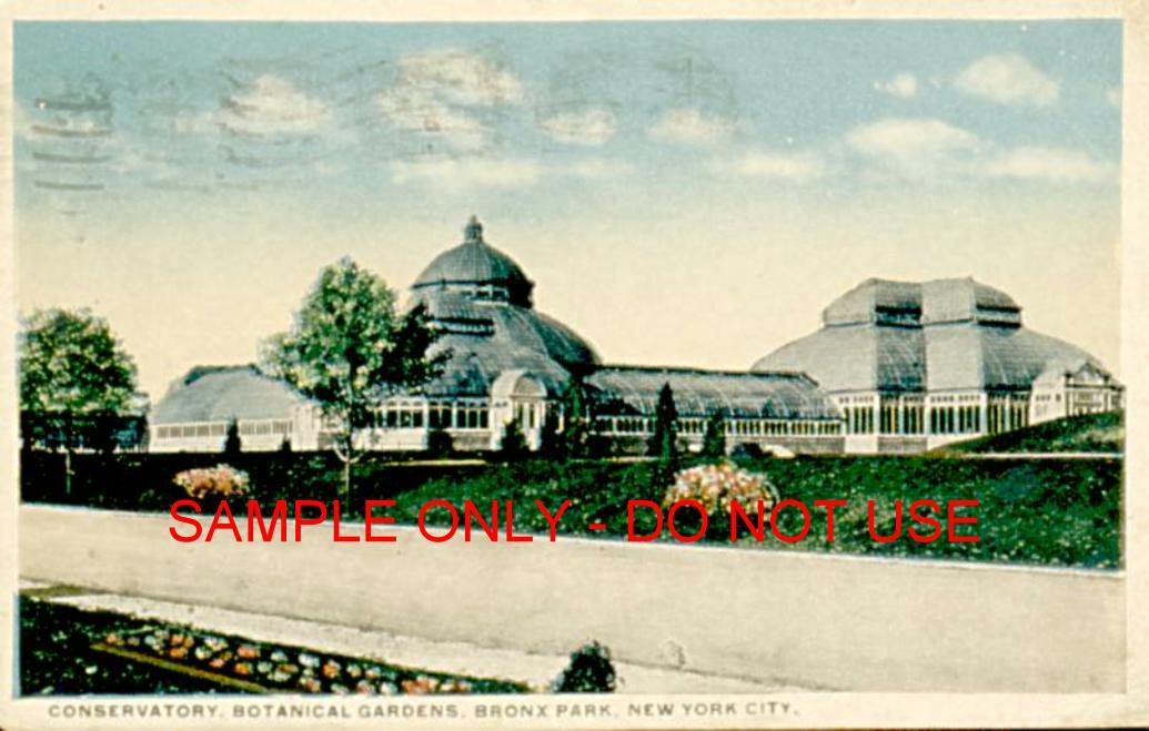 Botanical Garden Conservatory 1910