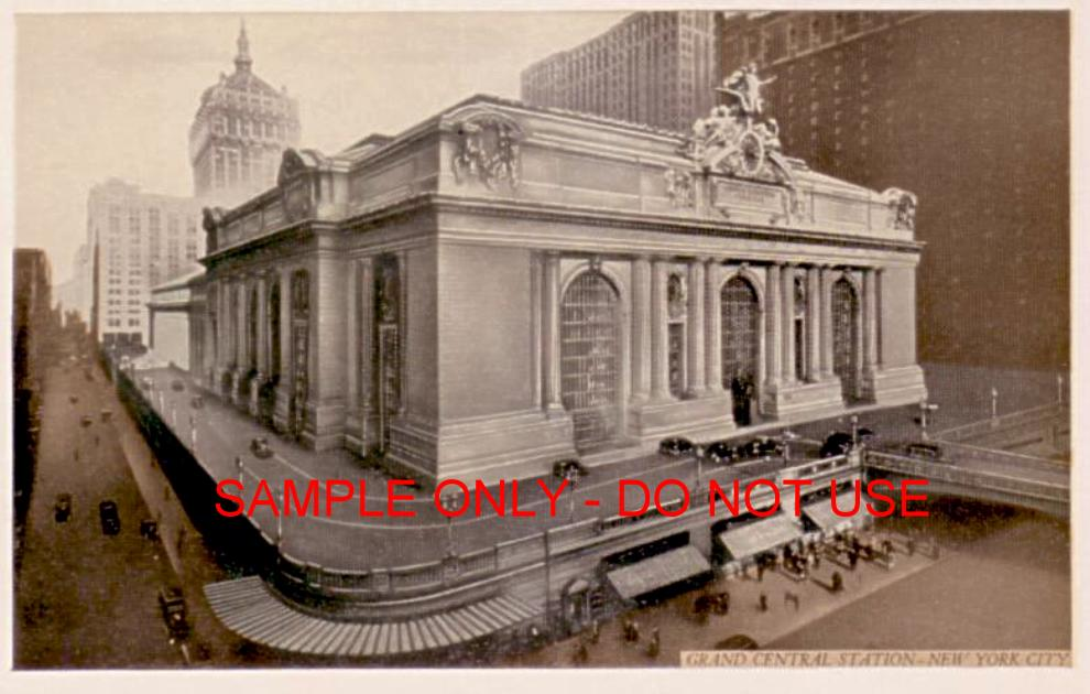 Grand Central exterior view 1915