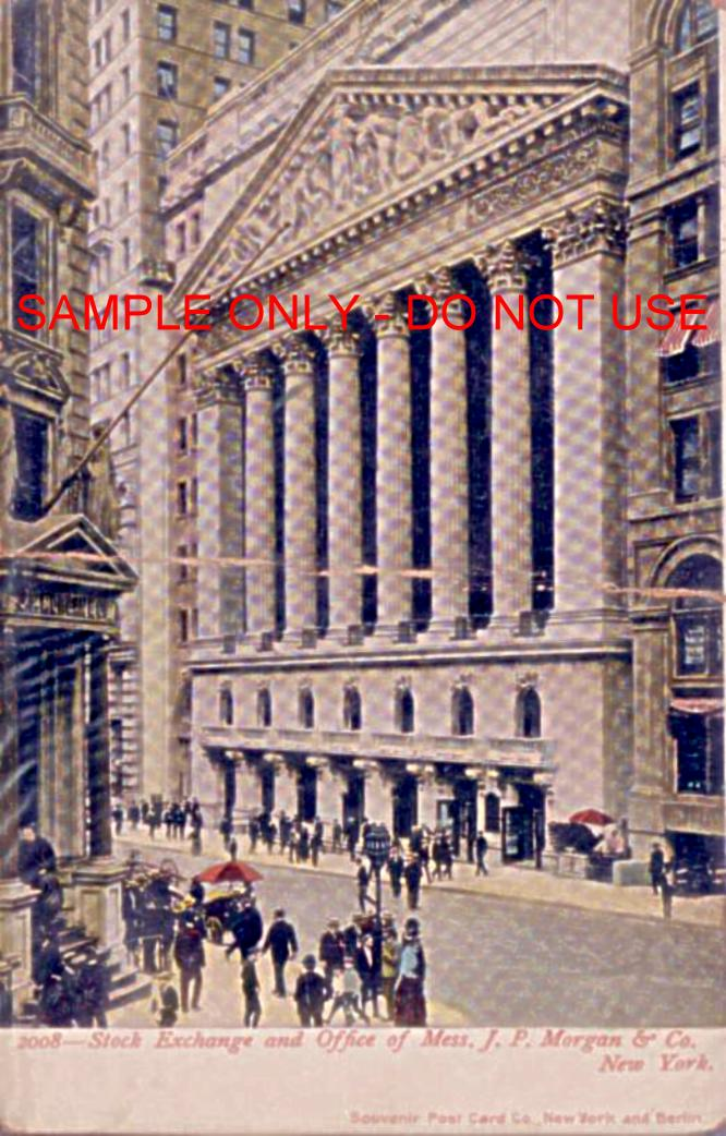 JP Morgan Wall St 1910