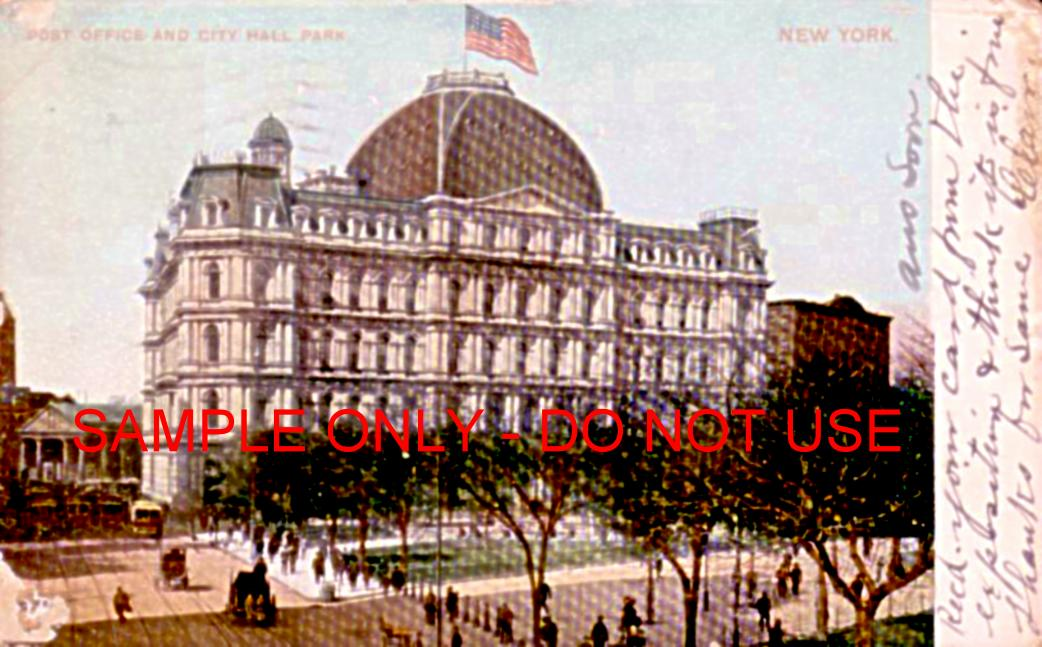 PO and City Hall 1910