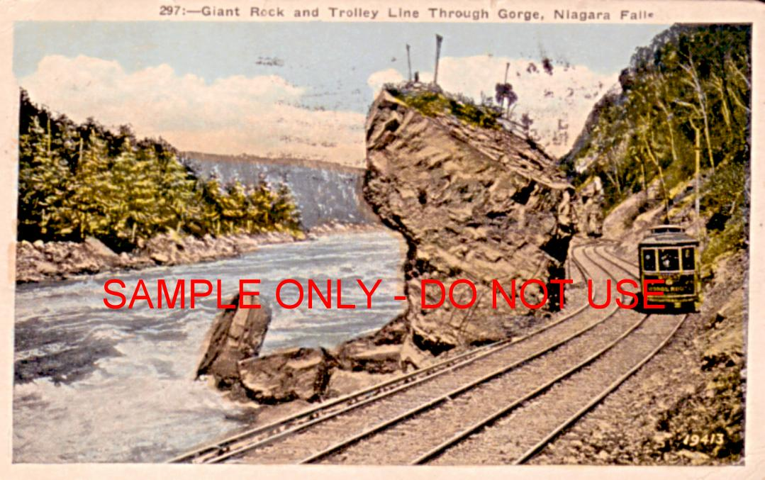 Torlley at Niagra Gorge 1915