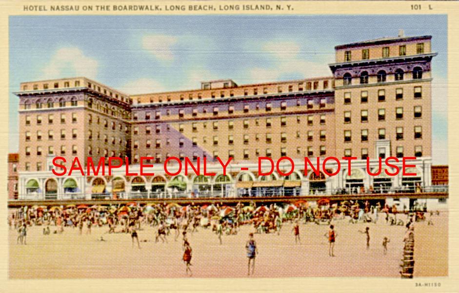 Long Island Long Beach scene
