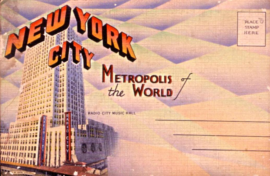 NYC Metrolpolis PC Booklet