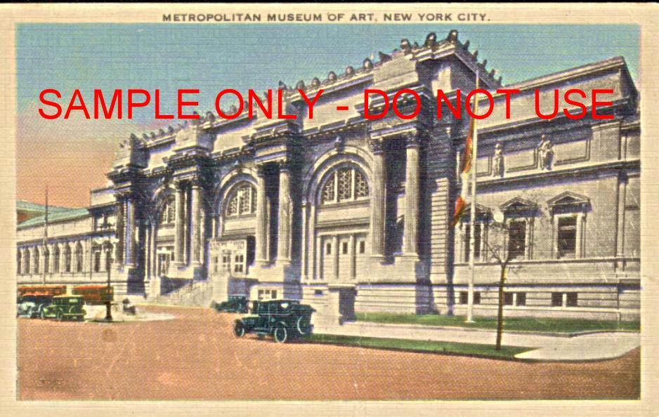 NY Metrolpolitan Art Museum