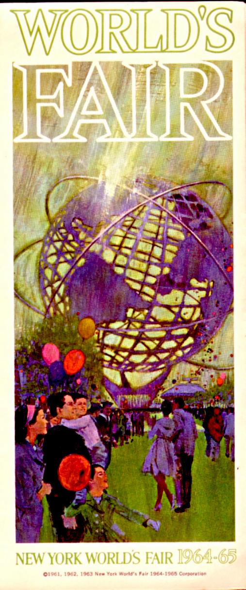 64 NYC  Worlds Fair guide 1