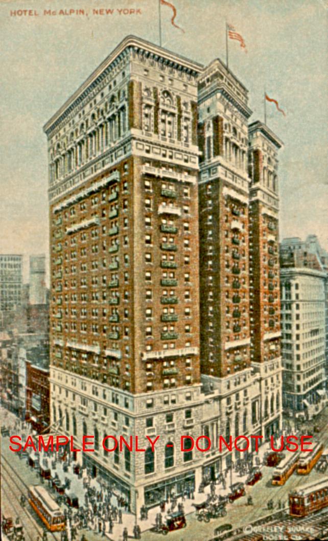 Hotel McAlpin 1925